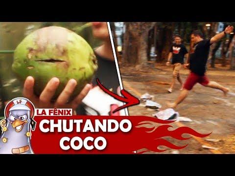 DESAFIO DO CHUTE SURPRESA: BOLA OU COCO