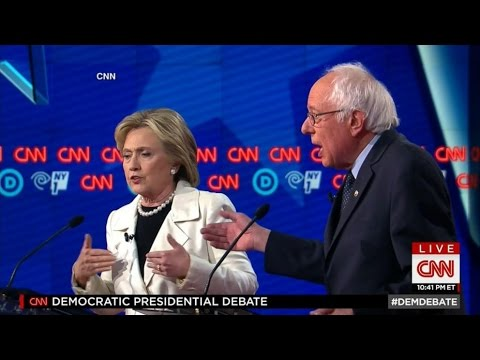 Hillary Clinton, Bernie Sanders Brawl In Brooklyn Debate