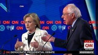 Hillary Clinton, Bernie Sanders Brawl In Brooklyn Debate