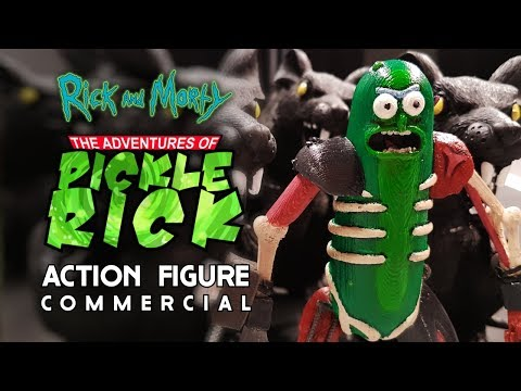 Pickle Rick! The Action Figure (Rick and Morty)