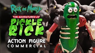 Pickle Rick The Action Figure Rick and Morty