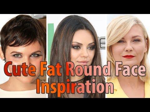 30 Best Cute Fat Round Face Hairstyles For Women L Short Medium
