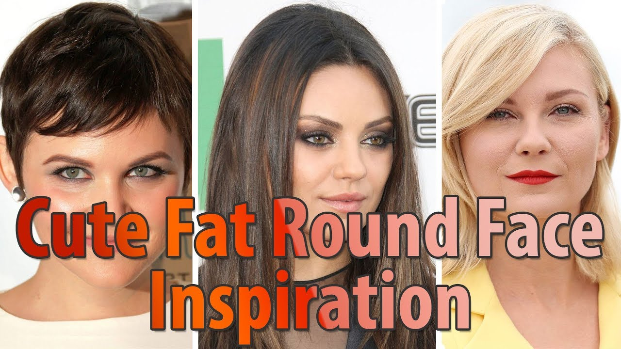 30 Best Cute Fat Round Face Hairstyles For Women L Short