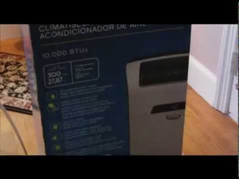 How To Assemble Idylis 10 000 Btu Air Conditioner Open