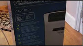 Idylis model number 416711 air conditioner owner s manual youtube 615 fandeluxe Choice Image