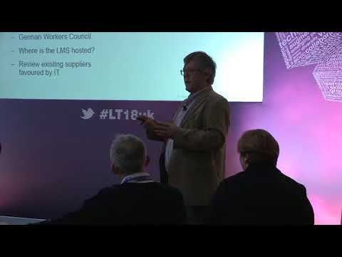 Mel Cooley & Andy Wooler - Implementing learning systems - LT18 Conference