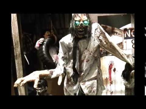 spirit halloween animatronics 2014 part 1 - Spirit Halloween Animatronics