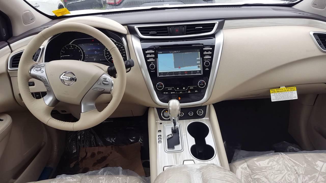 2016 Nissan Murano Platinum Pearl White Youtube
