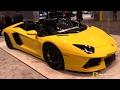 2017 Lamborghini Aventador Roadster LP700-4 - Exterior Interior Walkaround - 2017 Chicago Auto Show