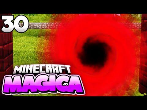 OP ENERGIE, BLACK AUREM! - Minecraft MAGICA #30   Zinus