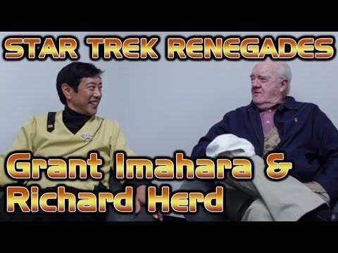 Grant Imahara & Richard Herd On Set  Star Trek Renegades