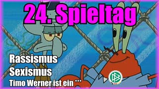 Bundesliga 24. Spieltag portrayed by Spongebob [Deutsch/German]
