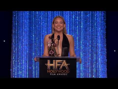 Kate Hudson Presents Ensemble Cast Award - HFAs 2016