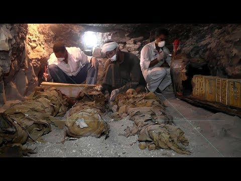 EGYPT || Amun-re goldsmith tomb uncovered in Luxor's west bank