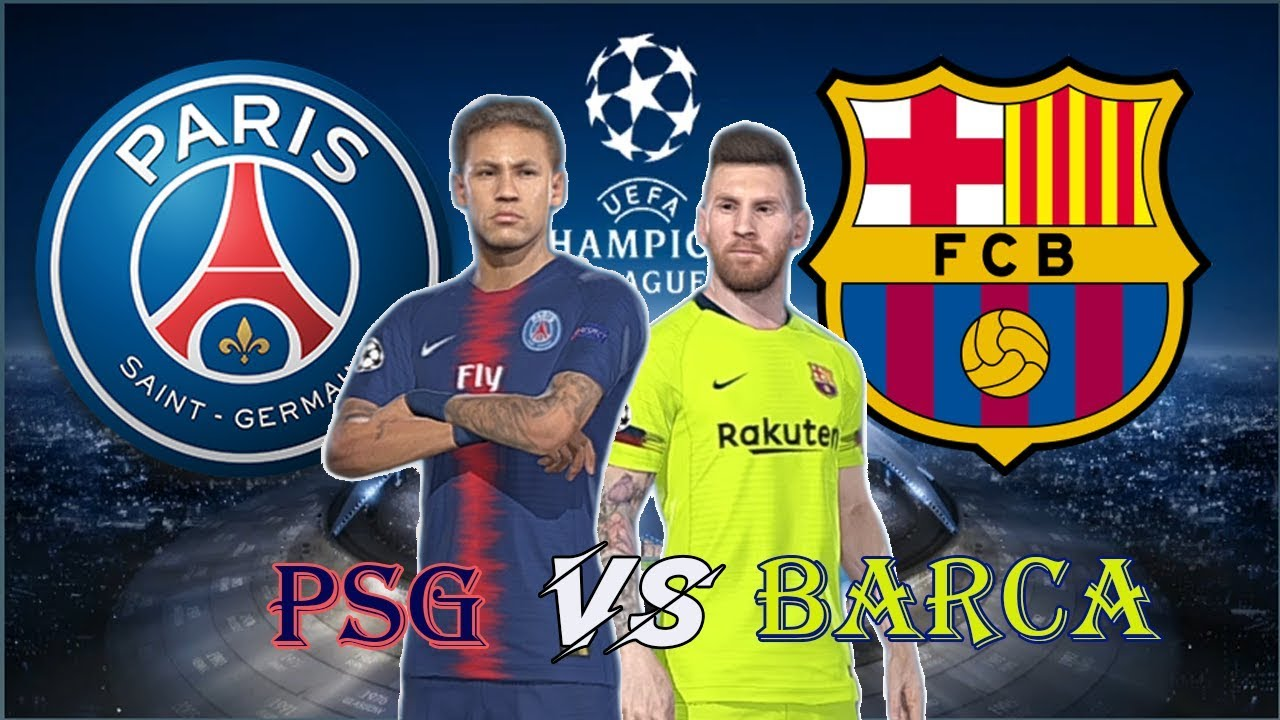 PSG vs Barcalona | UEFA Champions League Full Match | Gameplays PC