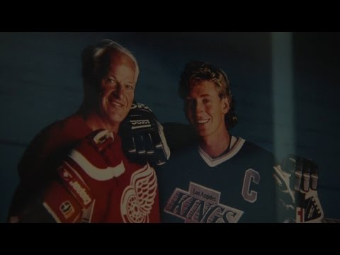 Wayne Gretzky calls in to talk about Gordie Howe