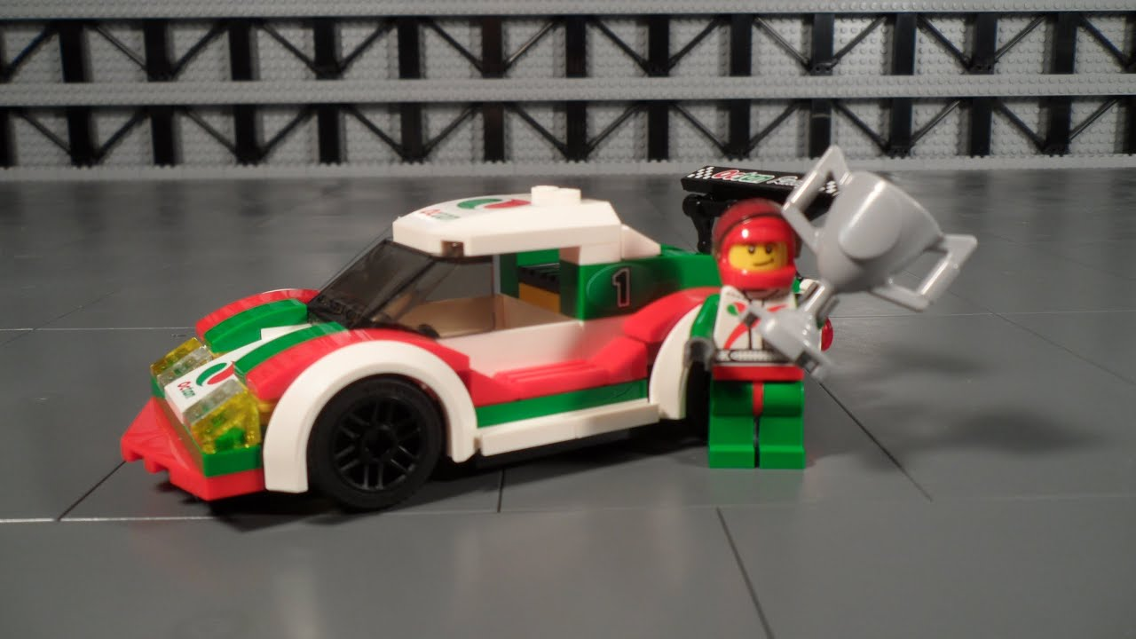 Lego City Race Car Review Youtube