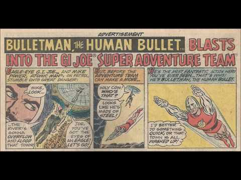 COMIC MAN PRODUCTIONS: HASBRO BULLETMAN G.I. JOE  ACTION PACK MARVEL THOR COMIC BOOK AD 1976