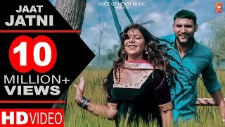 Jaat Jatni | Latest Haryanvi songs Haryanavi 2018 | Ajay Hooda, Pooja Hooda | Gagan Haryanvi