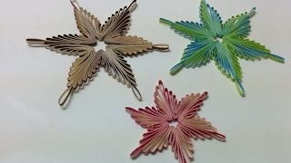 Art and Craft: How to make Copenhagen Star/ Quilling Star