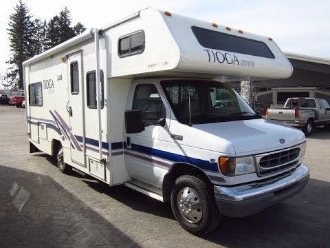 HaylettRV.com - 2001 Tioga Arrow 24D Used Class C Motorhome by Fleetwood RV