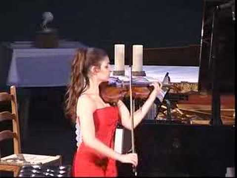 Alexandra Soumm 17years old Ysaÿe Sonata 1rst movement