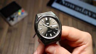 Японский вариант Rolex Datejust и всего за 100€. Обзор часов Seiko 5  SNXS79K1-A на калибре 7S26C.