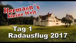 Tag 1 - Fahrradausflug 2017 | Von Böckstein bis Aschau im Chiemgau