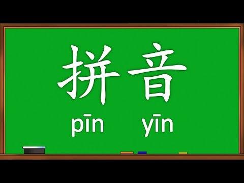 Belajar Membaca Ejaan Mandarin (Hanyu Pinyin)