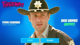 RICK GRIMES is HERE!!! Fortnitemares 2021 (Fortnite x The Walking Dead)