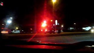 Engine 210 + Sheriff Responding - Polk County Fla