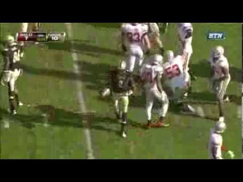 Bradley Roby forces fumble-Ohio State Football Highlight