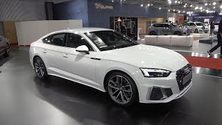 2020 Audi A5 Sportback FACELIFT - FULL review (WHAT'S NEW?) S Line 40 TDI