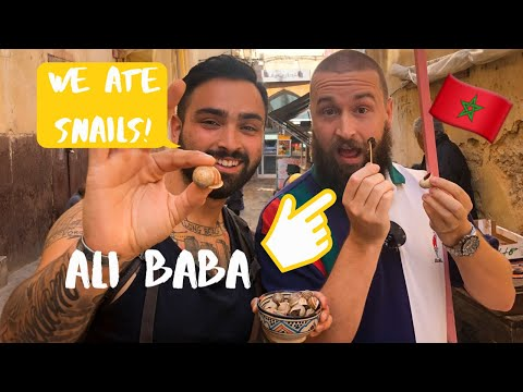 AMERICANS TRY MOROCCAN STREET FOOD! – FEZ, MOROCCO VLOG