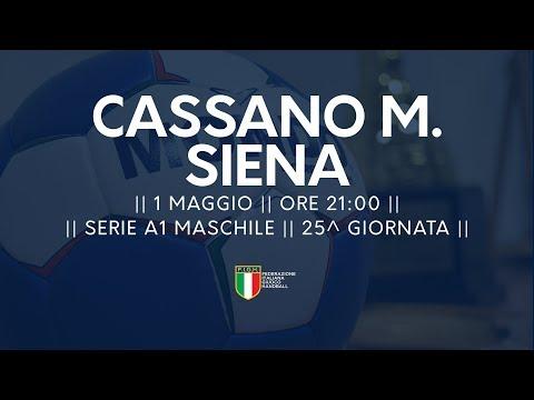 Serie A1M [25^]: Cassano Magnago - Siena 23-16
