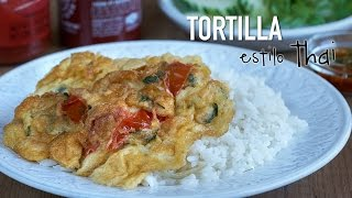 Tortilla estilo Thai - Easy Thai Omelette Recipe