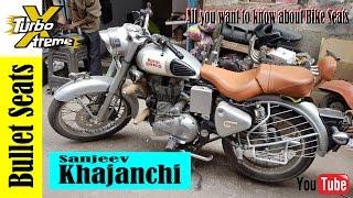 KHAJANCHI   Bullet Seat / Royal Enfield Seat   Bike Seat & Seat Covers   TURBO XTRME