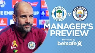 """GABRIEL JESUS WILL TRAIN"" | Pep Guardiola Press Conference | Wigan v City"