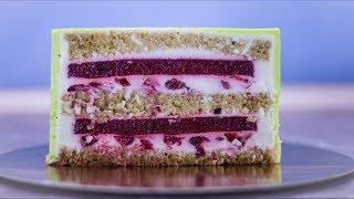 Рецепт торта который удивил моих гостей. Собираем и выравниваем торт + оригинальная начинка и крем