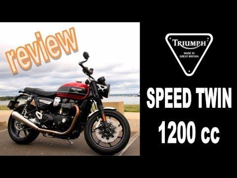 2019 Triumph Speed Twin Review - Triumph Sydney - Peter Stevens