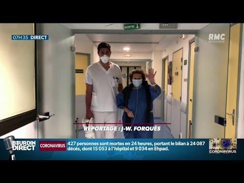Coronavirus: Lucienne, 66 ans, patiente originaire de Mulhouse, s'est réveillée guérie à Toulouse