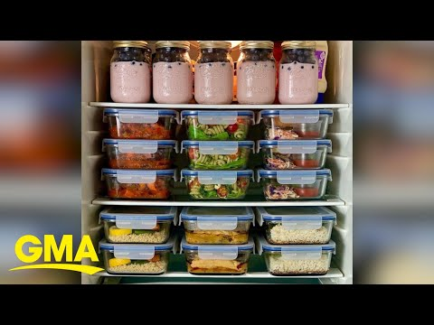 This man's meal prepping skills are next level