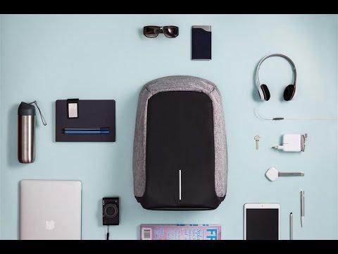 Рюкзак для ноутбука Bobby anti-theft <b>backpack</b> 15.6'' - YouTube