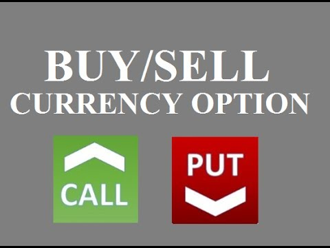 How To BUY SELL Call and Put Options in Currency Options Trading