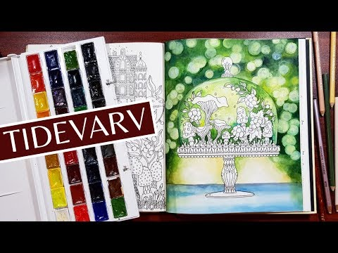 TERRARIUM Ep 01 I How To Create Bokeh Background Water Coloring By Cindy