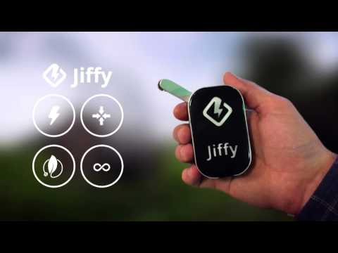 Crowdfunding project of the week: Jiffy will keep your devices charged with no outlets