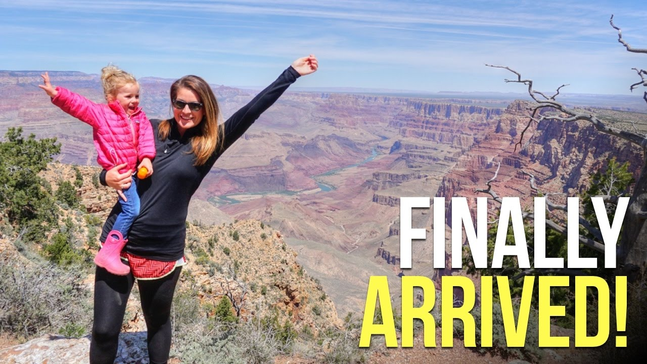 arriving-at-the-grand-canyon-in-the-airstream