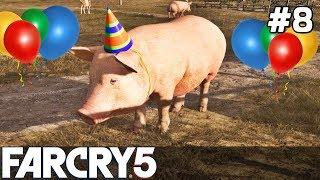 FAR CRY 5 Gameplay PL [#8] ZWARIOWANE Rzeczy /z Skie