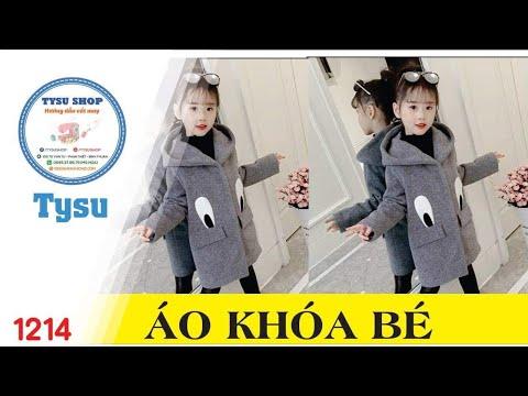 Hướng Dẫn Cắt May TysuShop Số 1214: Áo Khoác Cho Bé