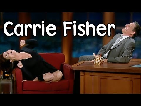 Carrie Fisher interviews with Craig Ferguson!